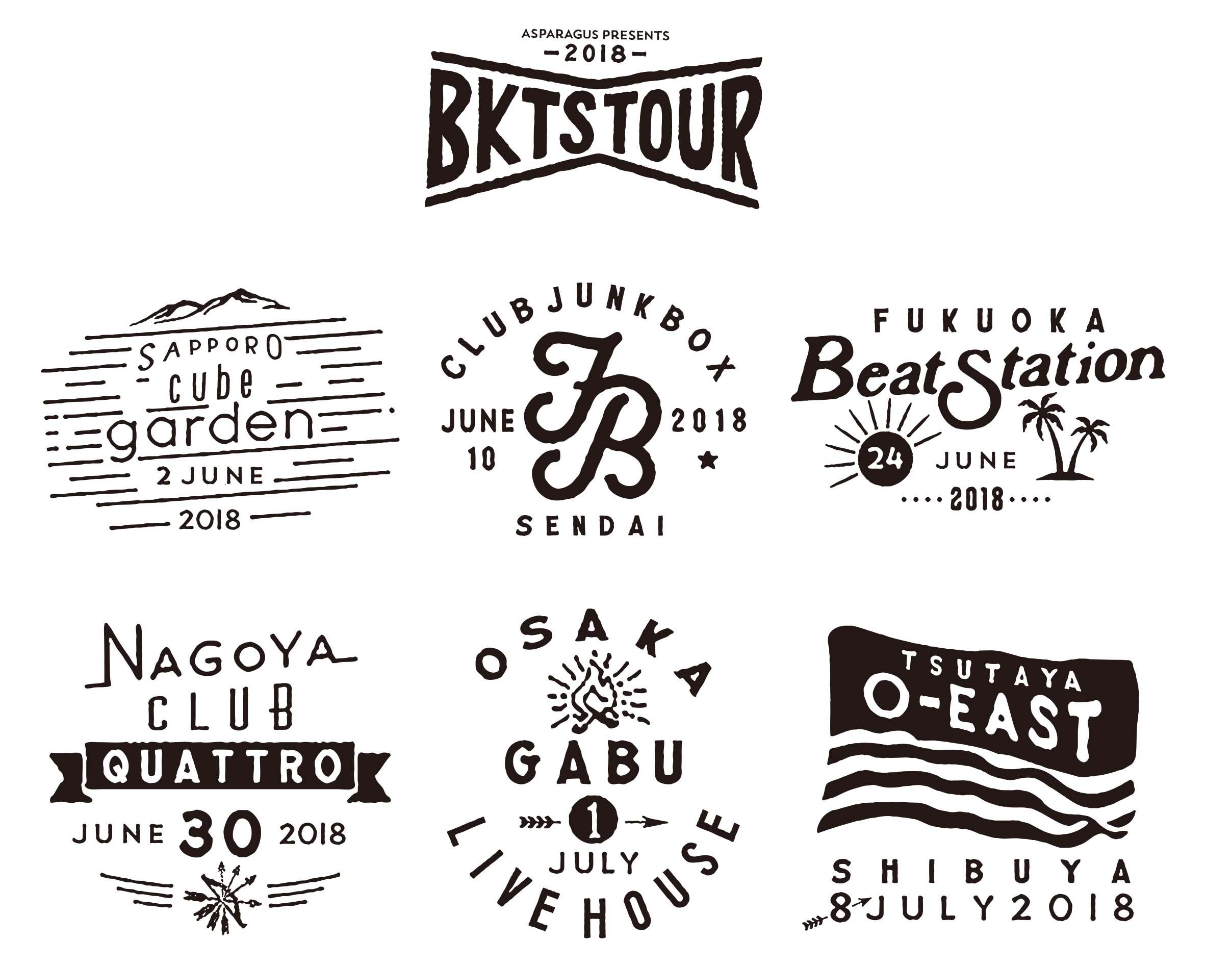 BKTS TOUR 2018
