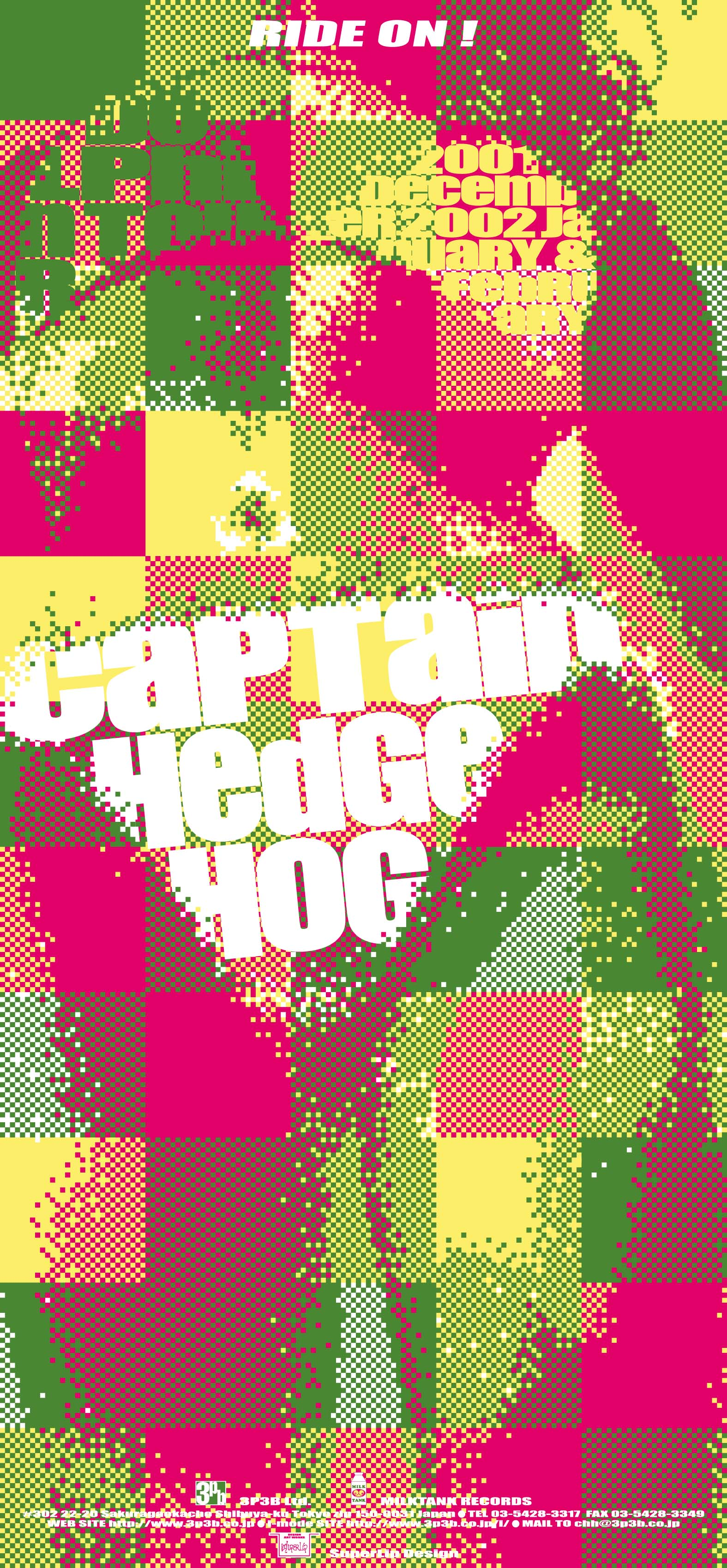 CAPTAIN HEDGE HOG / RIDE ON!