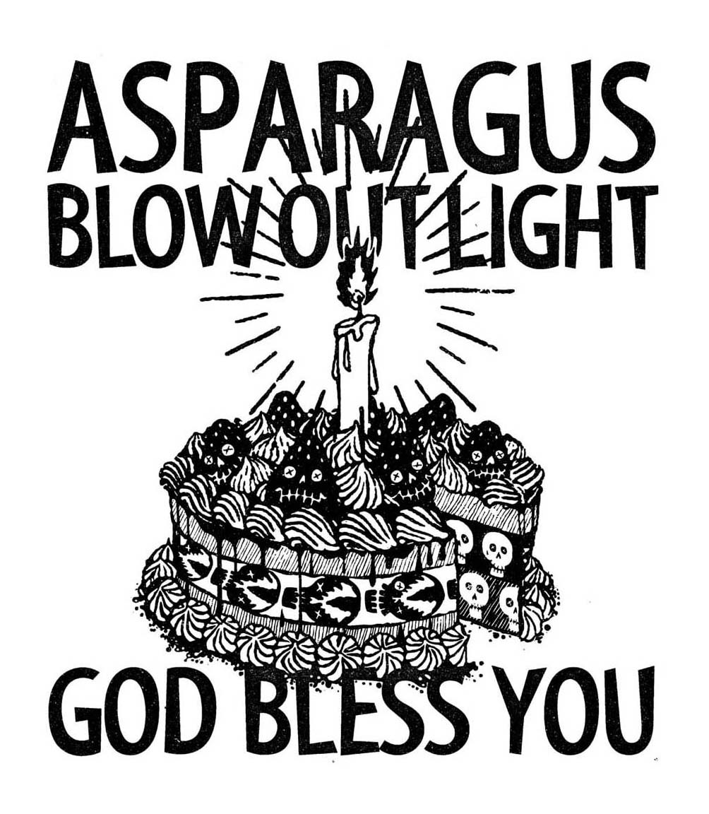 ASPARAGUS / CAKE