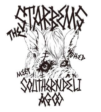 十周年記念コラボTシャツ第四弾!THE STARBEMS & southerndeli agoo
