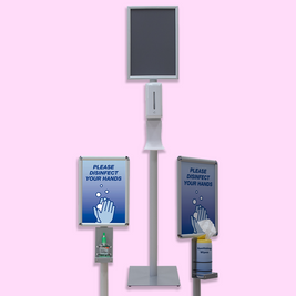 Deluxe Hand Sanitizer Stations