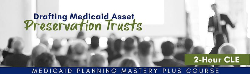 PLUS - drafting preservation trusts FINA