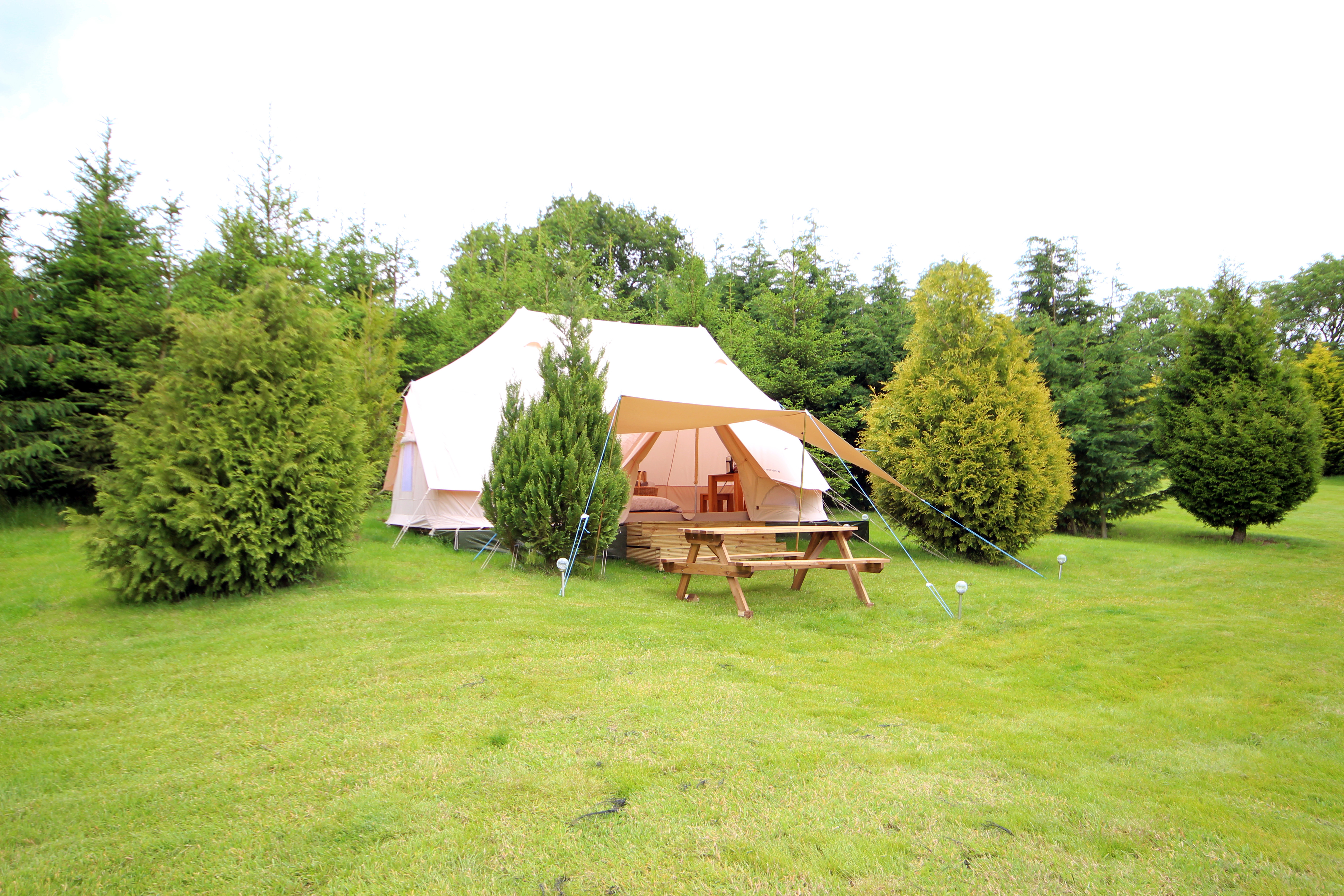 Weekend Glamping and BBQ for 2 : £150pp
