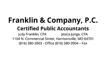 Franklin & Company, P.C. Certified Publi