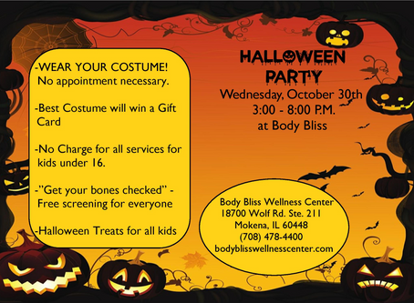 Join Us for Halloween fun! 10/30/19