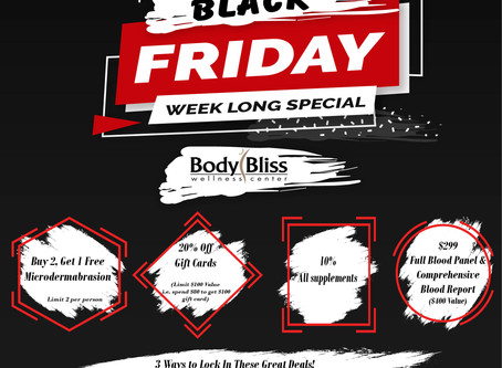 Don't miss these great deals! One week only!