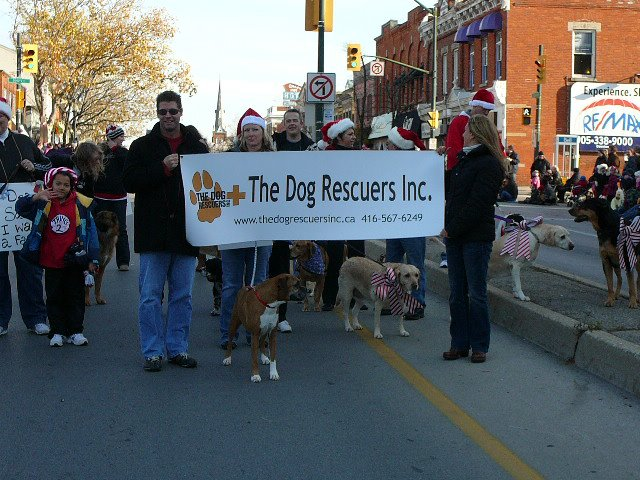 Santa Clause Parade Nov 2011