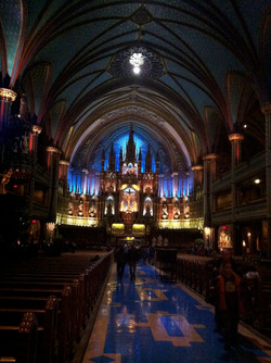 French Canadian Cathedral Wednesday