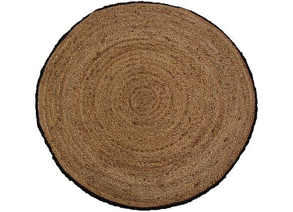 Jute tæppe, Ø70 cm