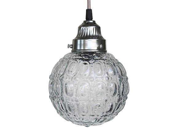 Kuglelampe med mønster