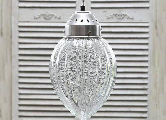 Oval glaslampe, Ø18