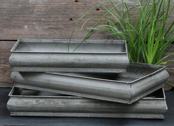 Bakker antique zink, 1 str.