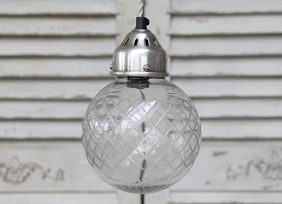 Kuglelampe m/slibninger, Ø15