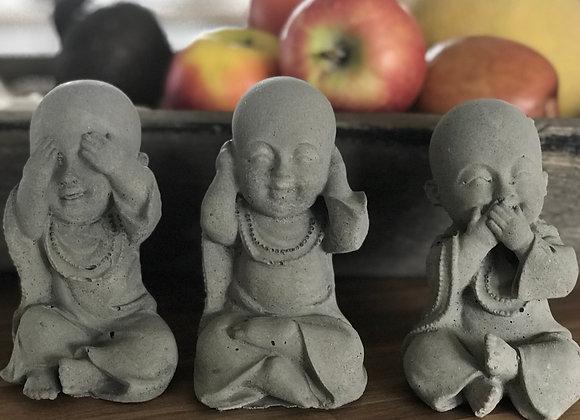 Baby Budda`er - ikke se, ikke høre, ikke tale