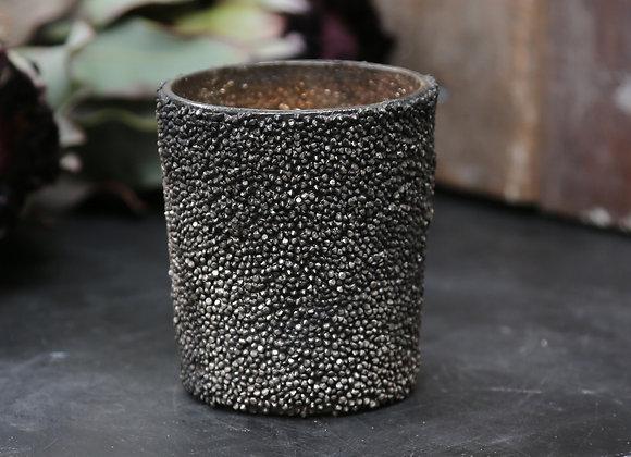 Fyrfadsstage antique espresso
