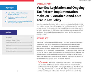 2019 Tax Year-In-Review