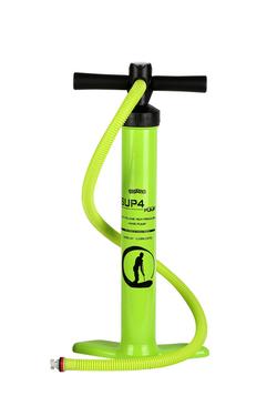 Unibody dual stage pump