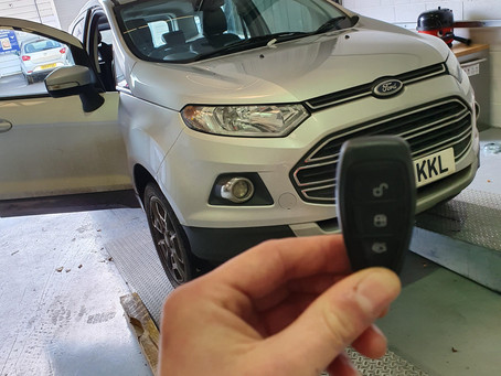 Ford Ecoboost Key cut and programed.