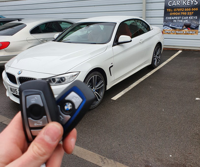 BMW key cut and programed while you wait