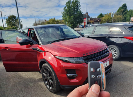 RANGE ROVER KEY CUT AND PROGRAMED GET IN TOUCH FOR A QUOTE