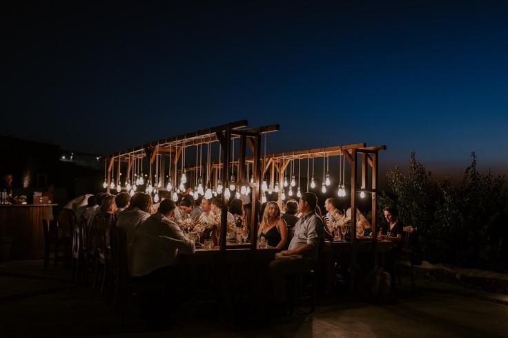 Romantic wedding Santorini