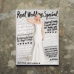 Publication in Hello May 6th Real Wedding Special - @hellomaymagazines sixth annual Real Wedding Special is on sale now - stocked in all good newsagents nationally  - Cover photo by @jacksteeel with typography by @blackliststudio.  - Featuring a @kwhbridal gown