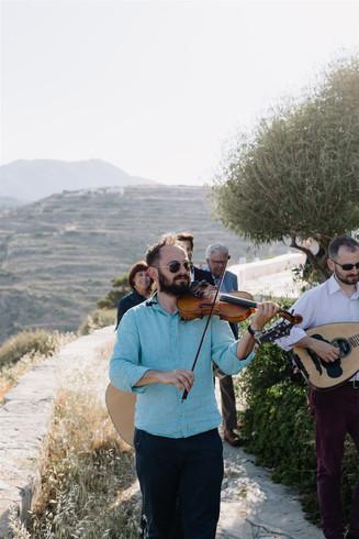 Greek wedding Sifnos