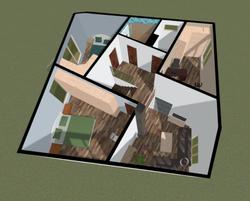 Plan basic model (second floor)