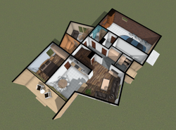 Plan maximum rooms (first floor)