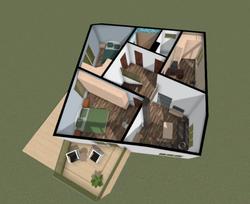 Plan second light (second floor)