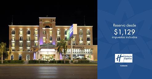 Holiday_Inn_Express_Torreon_Reserva_Noche_Romatica