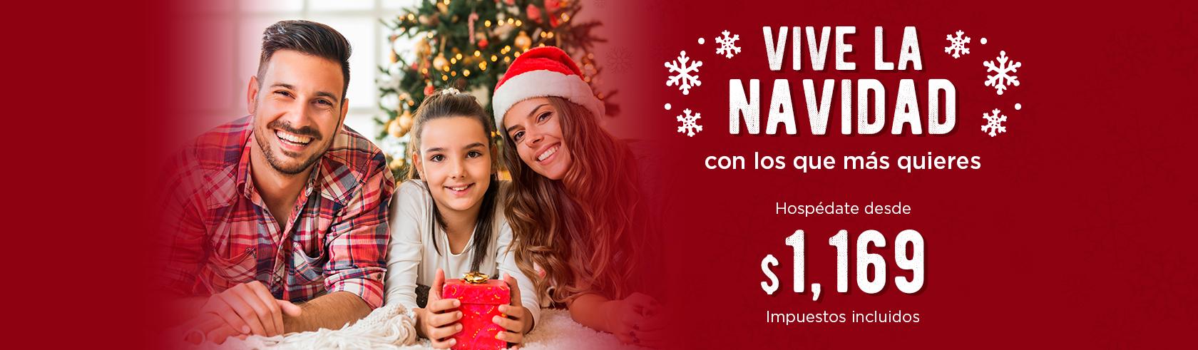 Navidad en Hotel Holiday Inn Express Galerías