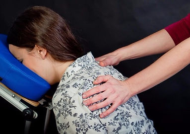 corporate chair massage, book with Back to Body