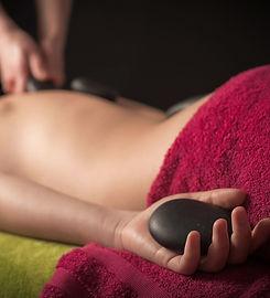 hot stone massage London