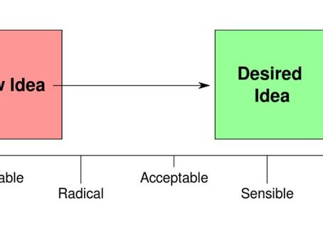 How Radical Policies Seem Sensible: The Overton Window