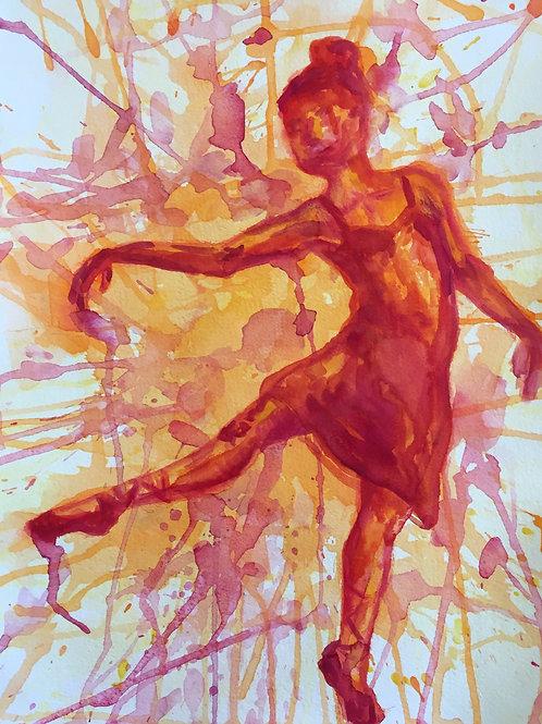 Red Orange Dancer
