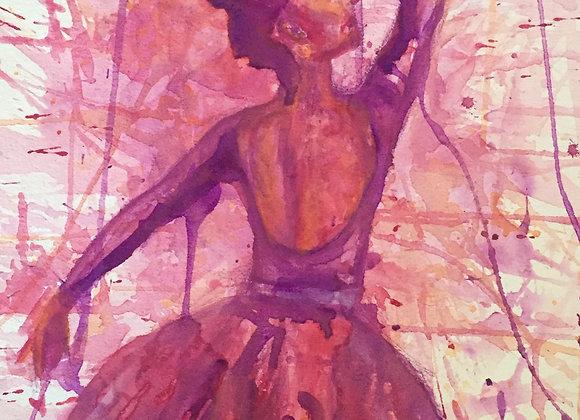 Red Violet Dancer