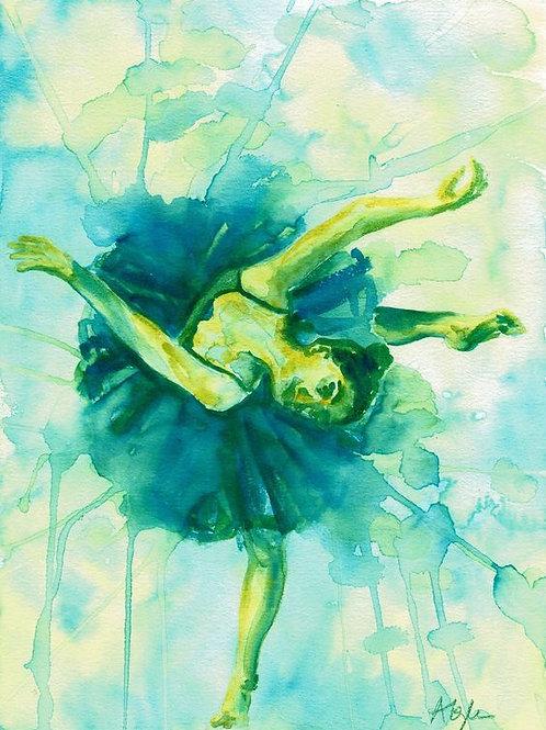 Blue Green Dancer
