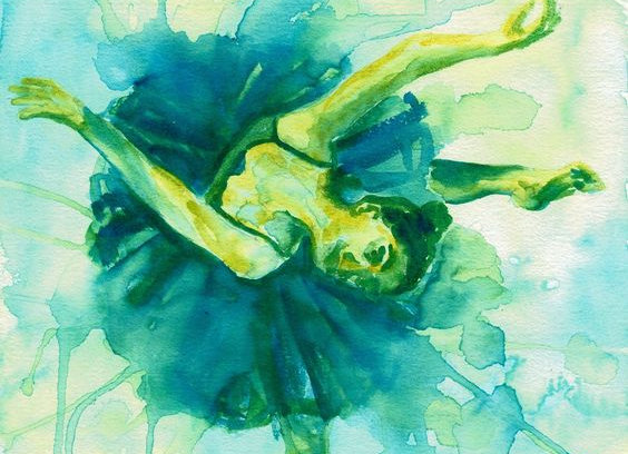 Blue Green Dancer