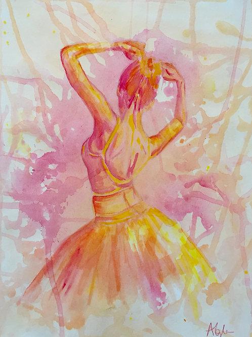 Pink Ballet Dancer