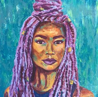 """Acrylic on Canvas 16"""" x 20"""" 2018"""