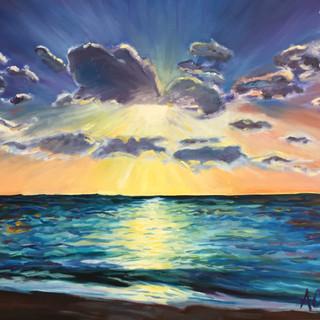 "Oil on Canvas 20"" x 24"" 2016"