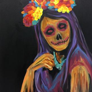 """Acrylic on Canvas 16"""" x 20"""" 2017"""
