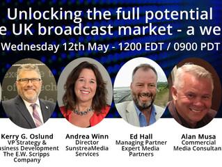 Webinar: Unlocking the potential of the UK broadcast market