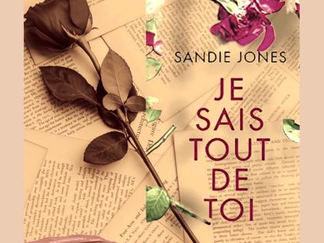 Je sais tout de toi de Sandie Jones