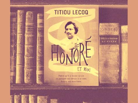 Honoré et moi de Titiou Lecoq