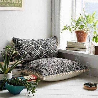 27 - Para quem gosta de um estilo simples de viver, esse espaço serve para você, confortável e acessivel