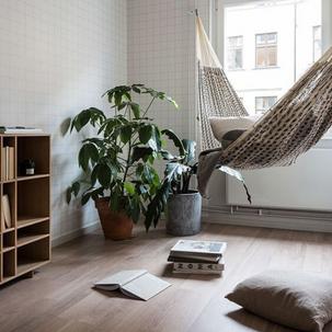 14 - Super aconchegante e simples, quem não gosta de deitar e relaxar em uma rede?