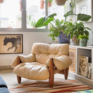 17 - Poltrona mole é sempre um sucesso, conforto e design