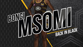 Bongi Msomi is back in black and gold